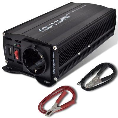 Transformator 600-1200W met USB