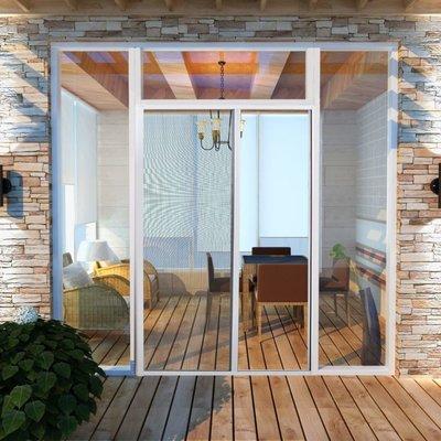 Schuifhor voor deuren wit 120 x 215 cm
