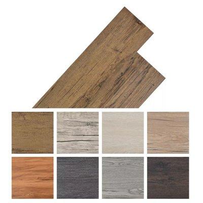 Vloerplanken zelfklevend 5,02 m² PVC walnoot bruin