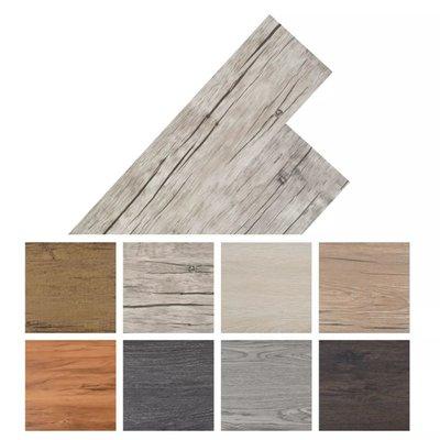 Vloerplanken zelfklevend 5,02 m² PVC washed eiken