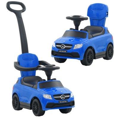 Loopauto met duwstang Mercedes Benz GLE63 Blauw