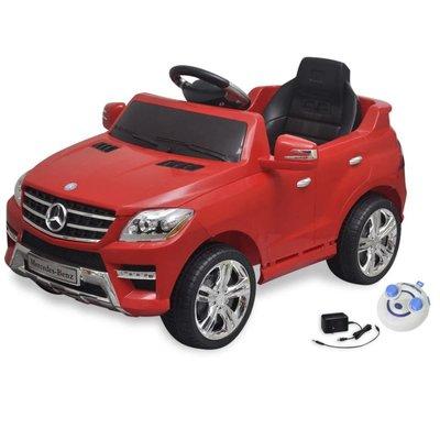Elektrische speelgoedauto Mercedes Benz ML350 rood 6 V