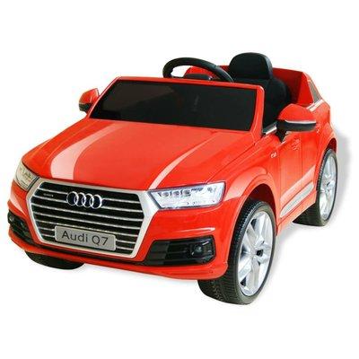 Elektrische speelgoedauto Audi Q7 6 V rood