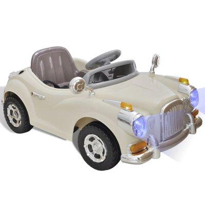 Speelgoedauto op batterijen (Beige)