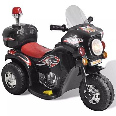 Speelgoedmotor op batterijen (Zwart)