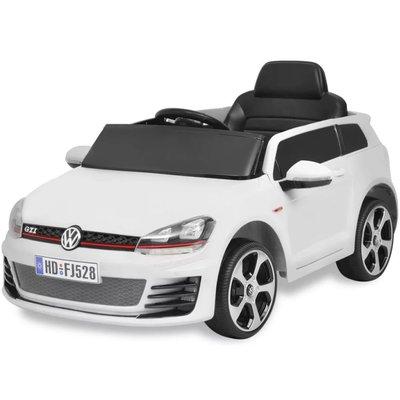 elektrische auto VW Golf GTI 7 wit 12 V met afstandsbediening