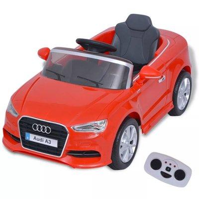 Elektrische speelgoedauto met afstandsbediening Audi A3 rood