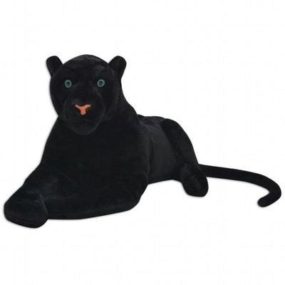 Speelgoedpanter pluche zwart XXL