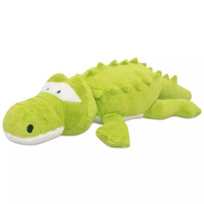 Knuffelbeest krokodil XXL 100 cm