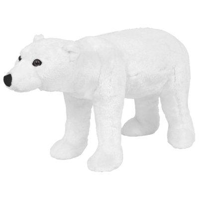 Speelgoedijsbeer staand XXL pluche wit