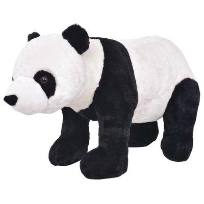 Speelgoedpanda staand XXL pluche zwart en wit