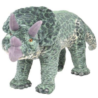 Speelgoeddinosaurus staand XXL pluche groen