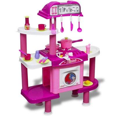 Kinderspeelkeuken met licht- en geluidseffecten groot