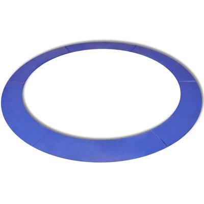 Veiligheidsmat voor 12ft/3,66m ronde trampoline PE blauw