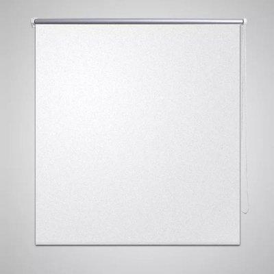 Rolgordijn verduisterend 40 x 100 cm wit