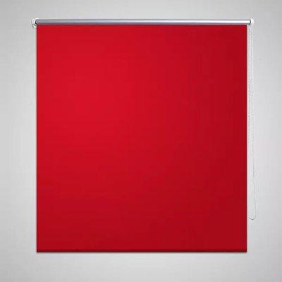 Rolgordijn verduisterend 40 x 100 cm rood