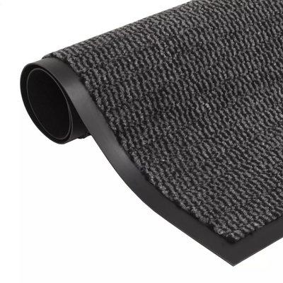 Droogloopmat rechthoekig getuft 40x60 cm antraciet