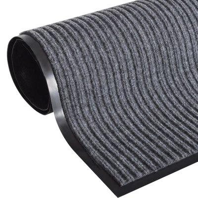 Deurmat PVC 90 x 60 cm (grijs)