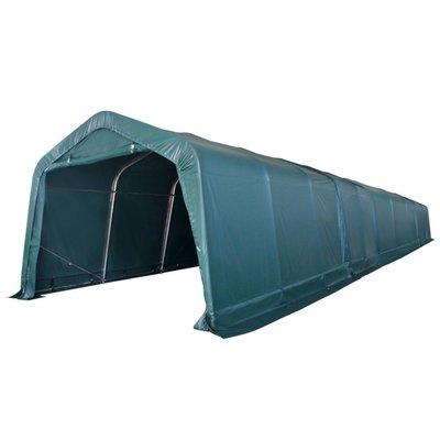 Veetent verwijderbaar 550 g/m² 3,3x16 m PVC donkergroen