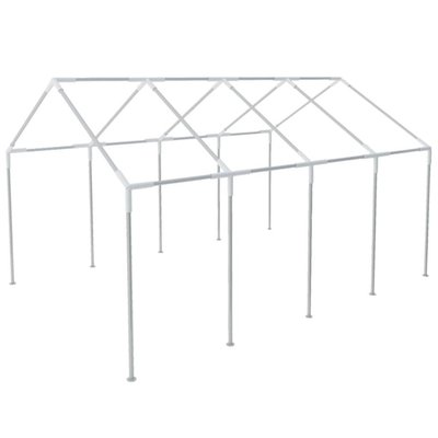 Frame voor partytent 8x4 m staal