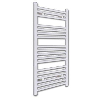 Badkamer radiator/handdoekenrek recht 500x1160 mm 600 W