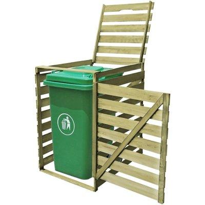 Containerberging enkel 240 L FSC geïmpregneerd hout
