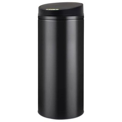 Prullenbak met automatische sensor 62 L zwart