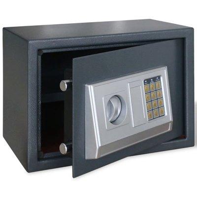 Elektronische digitale kluis met schap 35 x 25 x 25 cm