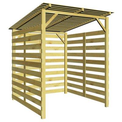 Tuinschuur 170x200x200 cm geïmpregneerd grenenhout