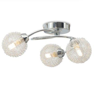 Plafondlamp met 3 LED-lampen G9 120 W