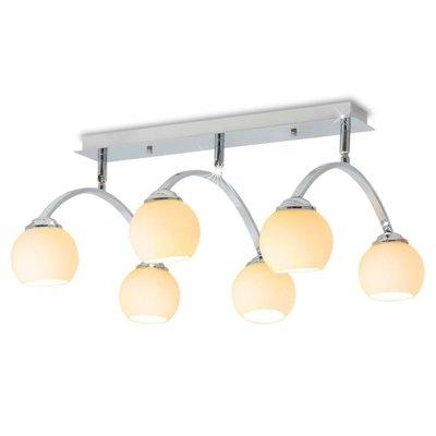 Plafondlamp met 6 LED-lampen G9 240 W