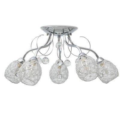Plafondlamp voor vijf G9 lampen 200 W