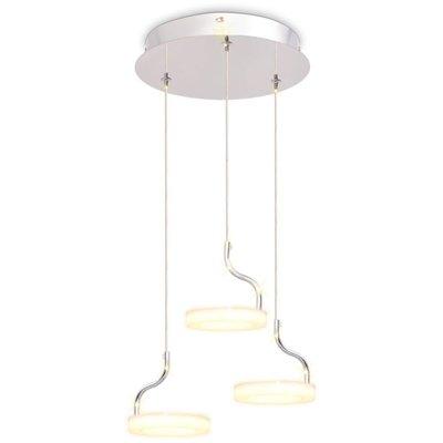 LED-hanglamp met 3 lampen warm wit