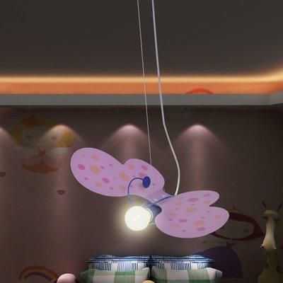 Hanglamp Roze Vlinder Model voor kinderslaapkamer