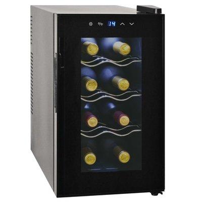 Wijnkoeler voor 8 flessen met LCD-scherm 25 L