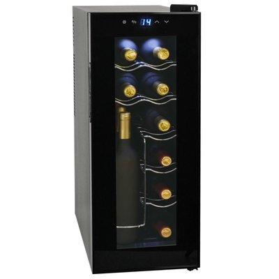 Wijnkoeler voor 12 flessen met LCD-scherm 35 L