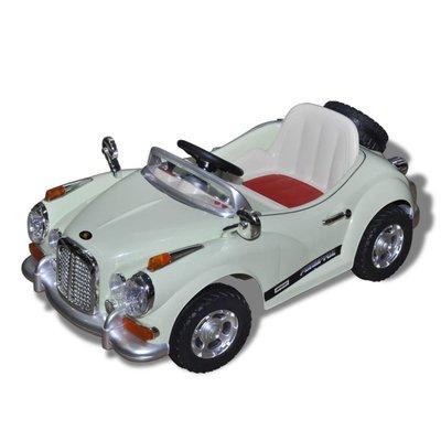 Elektr. speelgoedauto (groen) - (niet leverbaar in België)