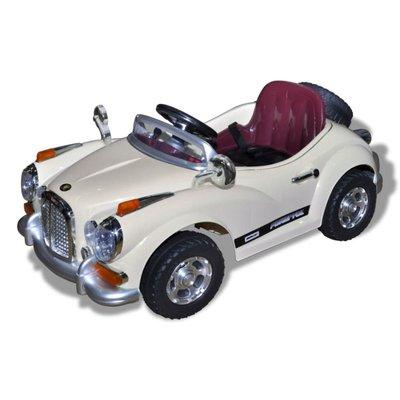 Elektr. speelgoedauto (geel) - (niet leverbaar in België)