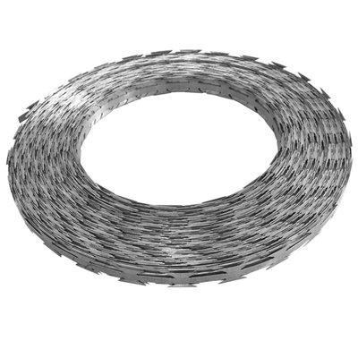 Scheermesprikkeldraad concertina 500 m gegalvaniseerd staal