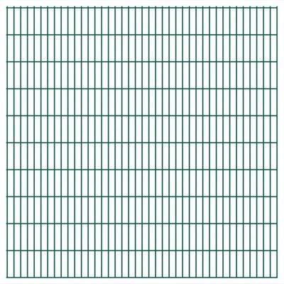 Dubbelstaafmatten 2008 x 2030mm 50m Groen 25 stuks