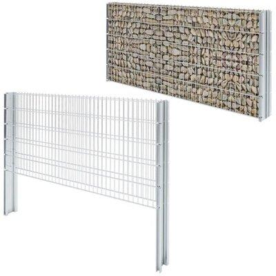 2D Schanskorf muur 2008x1030 mm 6 m gegalvaniseerd