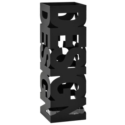 Parapluhouder design staal zwart