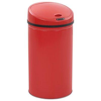 Sensorprullenbak 42 L rood