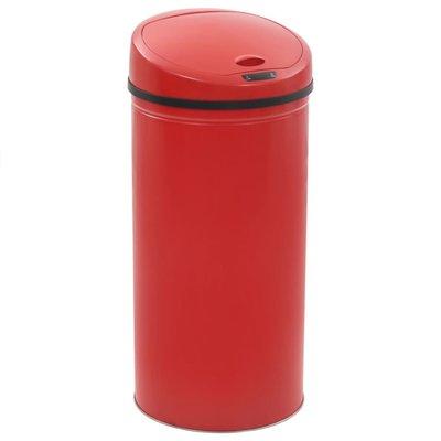 Sensorprullenbak 52 L rood