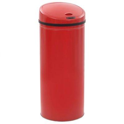 Sensorprullenbak 62 L rood
