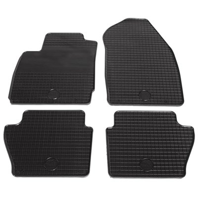 Automattenset voor Ford Fiesta Fusion rubber 4-delig
