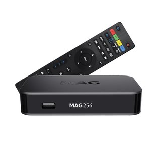 MAG 256 hevc iptv set-top box
