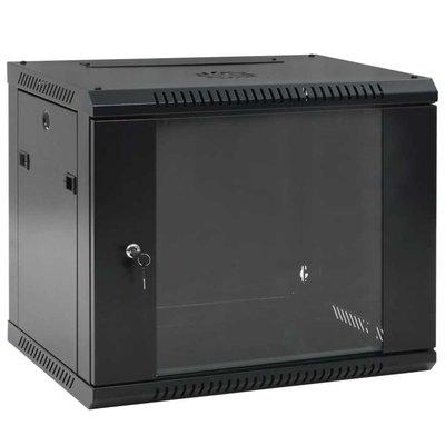 """9U Netwerkkast voor aan de muur 19"""" IP20 600x450 mm"""