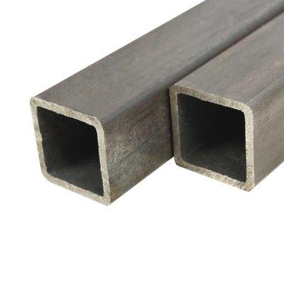 Kokerbuizen vierkant 2m 50x50x2mm constructiestaal 2 st