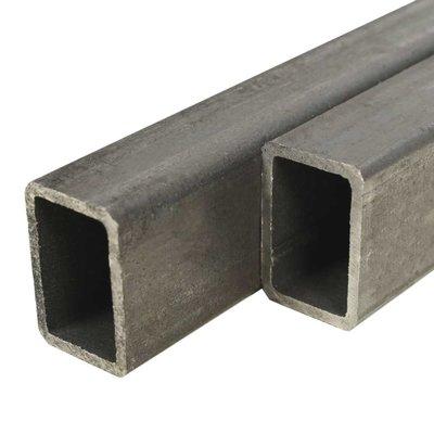 Kokerbuizen rechthoekig 2m 50x30x2mm constructiestaal 4 st